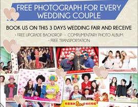 #41 untuk Design a Flyer for Thepica Studio Wedding Fair oleh amcgabeykoon