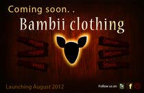 Contest Entry #15 for Graphic Design for bambii clothing.ca