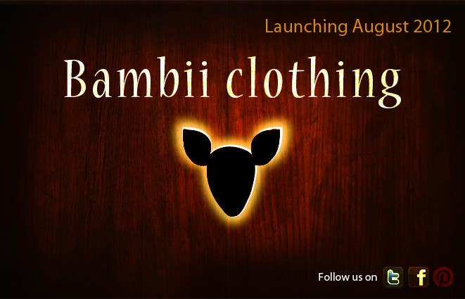 #16 for Graphic Design for bambii clothing.ca by farhanpm786
