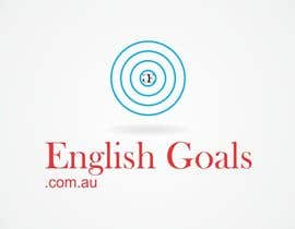 #113 for Logo Design for 'English Goals' af vida0092001