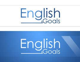 nº 106 pour Logo Design for 'English Goals' par graphicsavvy