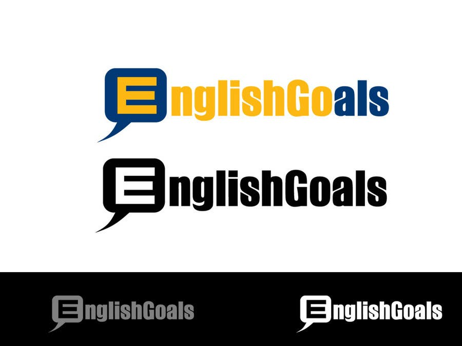 Contest Entry #1 for Logo Design for 'English Goals'