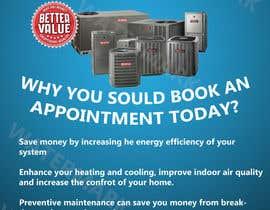 JoaoPedroPereira tarafından Design a Flyer for our HVAC (Heating and Cooling) Company için no 2