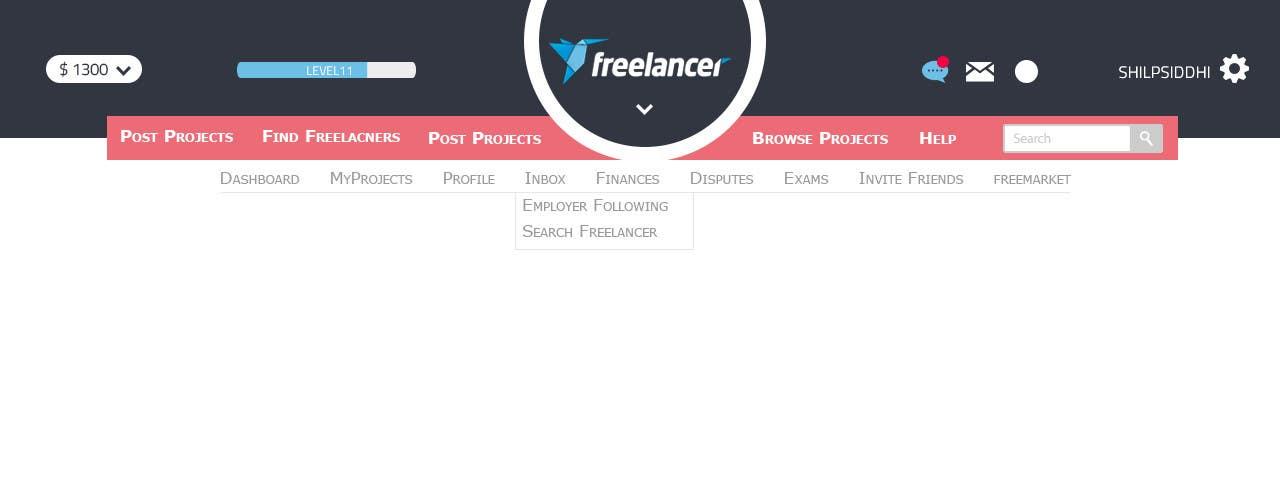 #18 for Design a Website Mockup for Freelancer.com !!! by ShilpSiddhi
