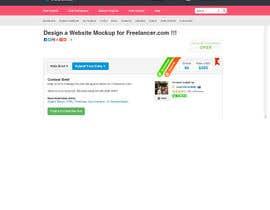 #70 for Design a Website Mockup for Freelancer.com !!! by amitwebdesigner