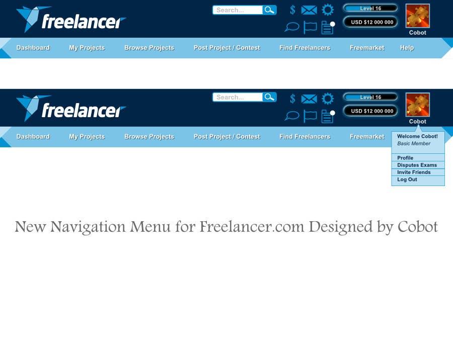 #67 for Design a Website Mockup for Freelancer.com !!! by Cobot