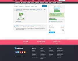 #54 for Design a Website Mockup for Freelancer.com !!! by mishok123