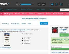 #48 for Design a Website Mockup for Freelancer.com !!! by sharpBD