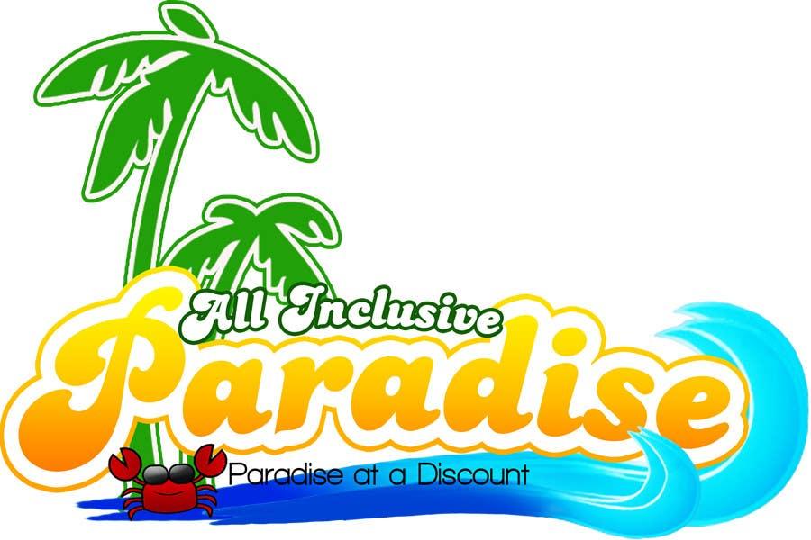 Participación en el concurso Nro.34 para Logo Design for All Inclusive Paradise