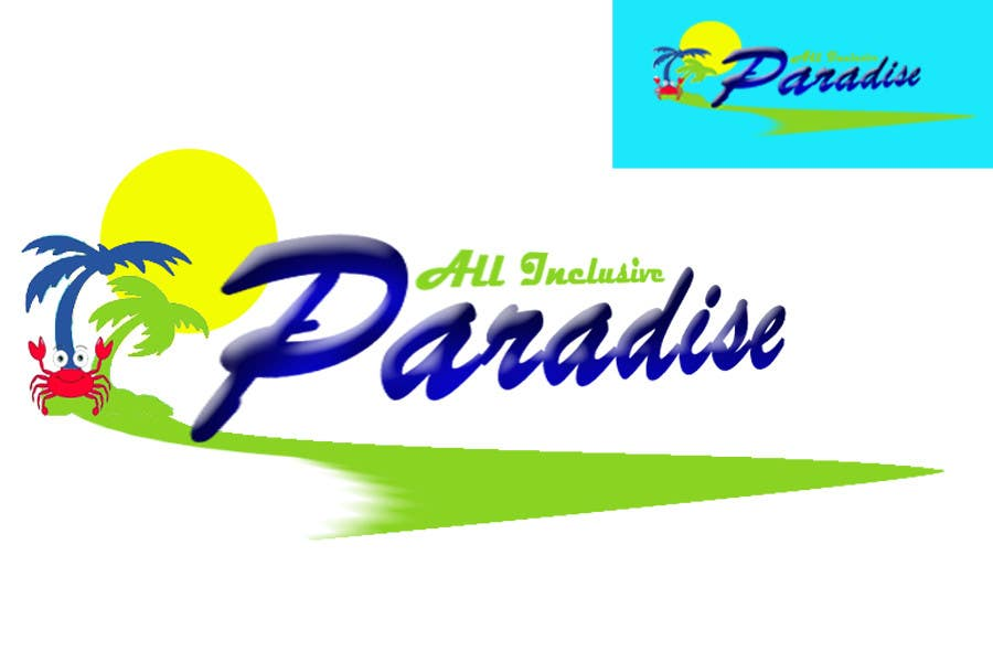 Contest Entry #                                        115                                      for                                         Logo Design for All Inclusive Paradise
