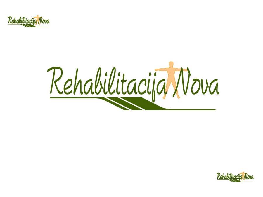"Конкурсная заявка №144 для Logo Design for a rehabilitation clinic in Croatia -  ""Rehabilitacija Nova"""