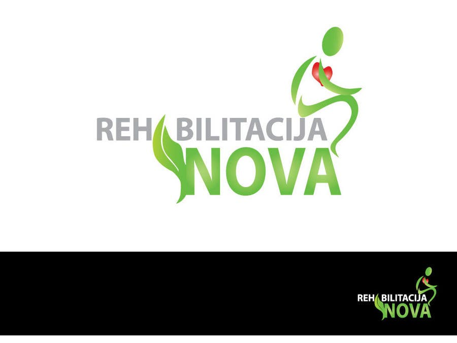 "Конкурсная заявка №205 для Logo Design for a rehabilitation clinic in Croatia -  ""Rehabilitacija Nova"""