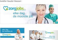 Contest Entry #8 for Ontwerp een Banner for facebook, twitter, linkedin header for a health care jobboard