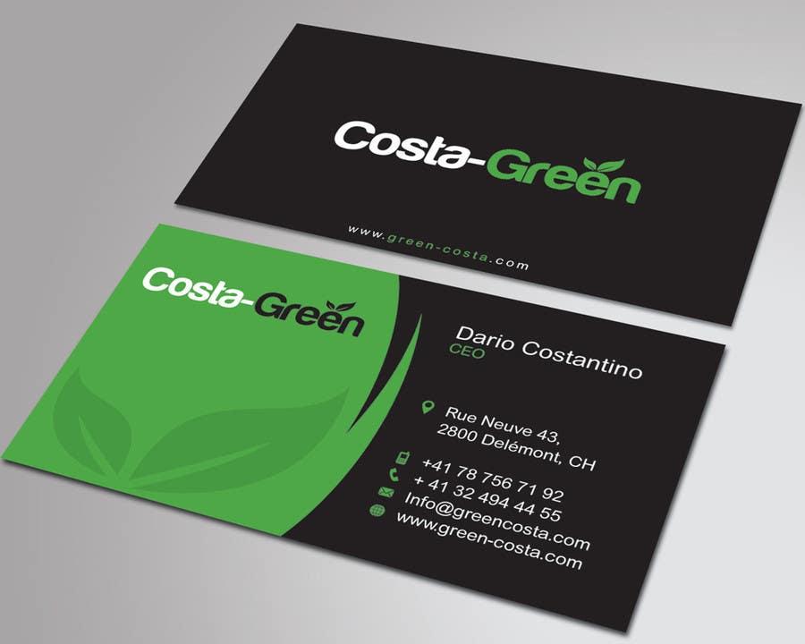 Penyertaan Peraduan #                                        68                                      untuk                                         Design some Business Cards for my company selling medicine