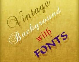 machine4arts tarafından I need some Graphic Design for Vintage Signage Background için no 20