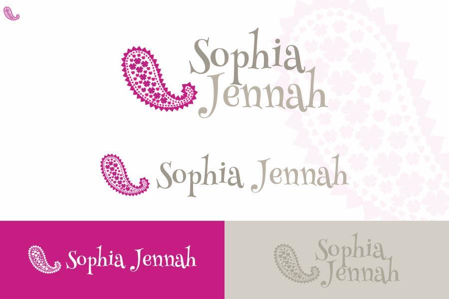 Inscrição nº 36 do Concurso para Logo Design for Sophia Jennah