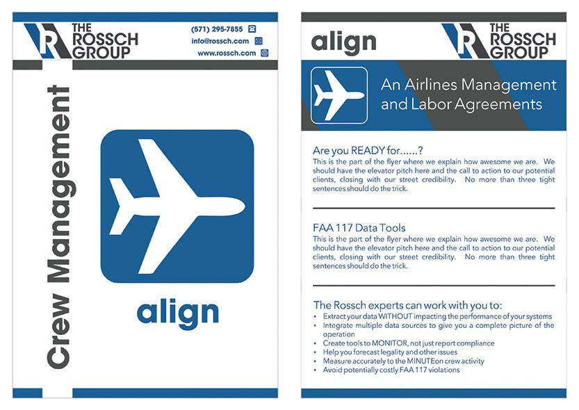Design a Half Page Flyer Templates for Trade Shows | Freelancer