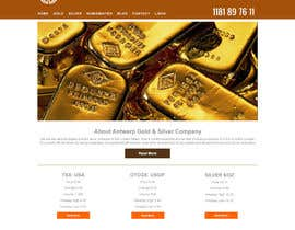 #16 for Design & wordpress website for Gold and Silver company af dyymonn