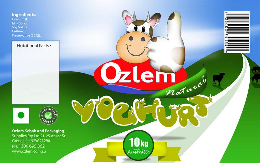 #183 for Graphic Design for Ozlem Kebab & Packaging Pty Ltd by farhanpm786