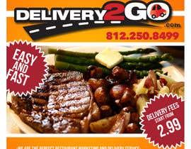 #22 for Design a Flyer for Delivery2Go af octa26