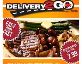 #27 for Design a Flyer for Delivery2Go af octa26