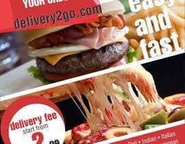 #31 for Design a Flyer for Delivery2Go af shashankmod