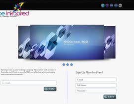 #3 for Landing Page for Be Inkspired af hasanaries
