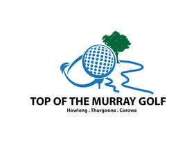 nº 181 pour Logo Design for Top Of The Murray Golf par danumdata