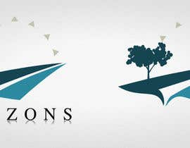 nº 593 pour Logo Design for Horizons par ShibumiGroup