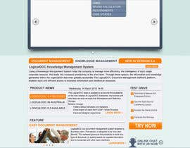 #19 for Layout the contents of the Home page of a web-site using a defined template af jagadeeshrk