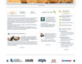 #22 for Layout the contents of the Home page of a web-site using a defined template by lihia