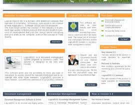 #6 for Layout the contents of the Home page of a web-site using a defined template af AaryaInf