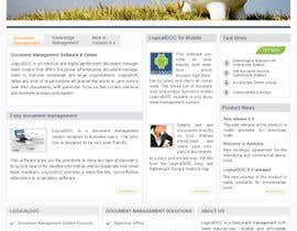 #13 for Layout the contents of the Home page of a web-site using a defined template af AaryaInf