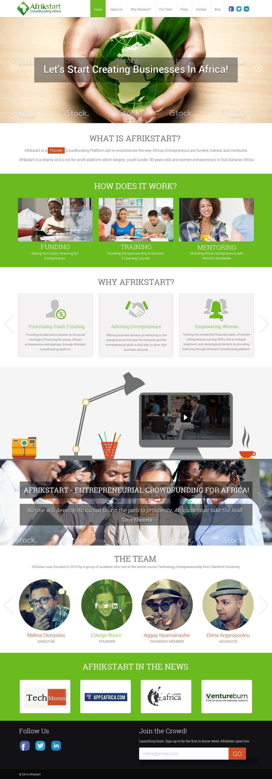 Designing A Mockup Of Parallax Website