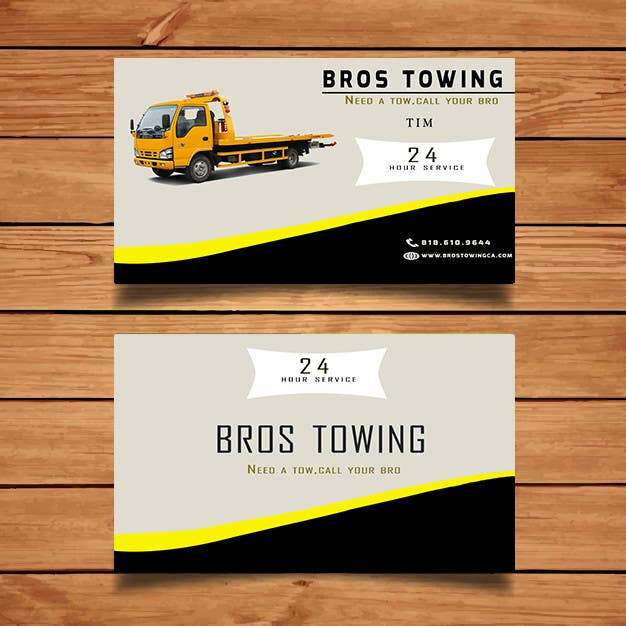 Entry 39 by gladiator0fweb for tow truck business cards freelancer contest entry 39 for tow truck business cards colourmoves