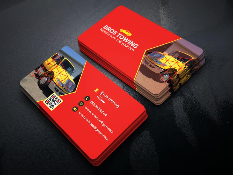Entry #44 by robiul215 for Tow truck business cards | Freelancer