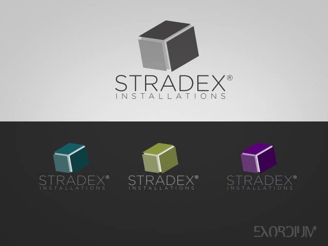 Penyertaan Peraduan #88 untuk Logo Design for Stradex Installations