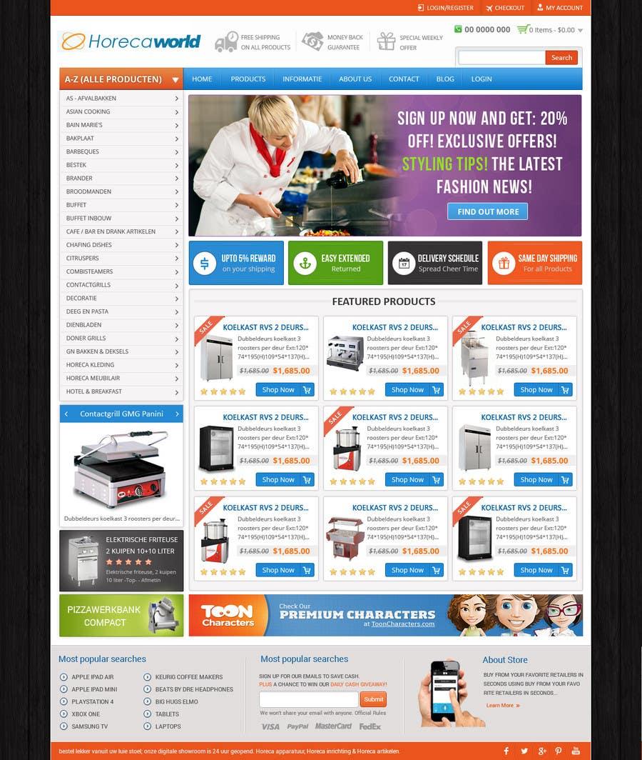 Konkurrenceindlæg #                                        4                                      for                                         New design webshop