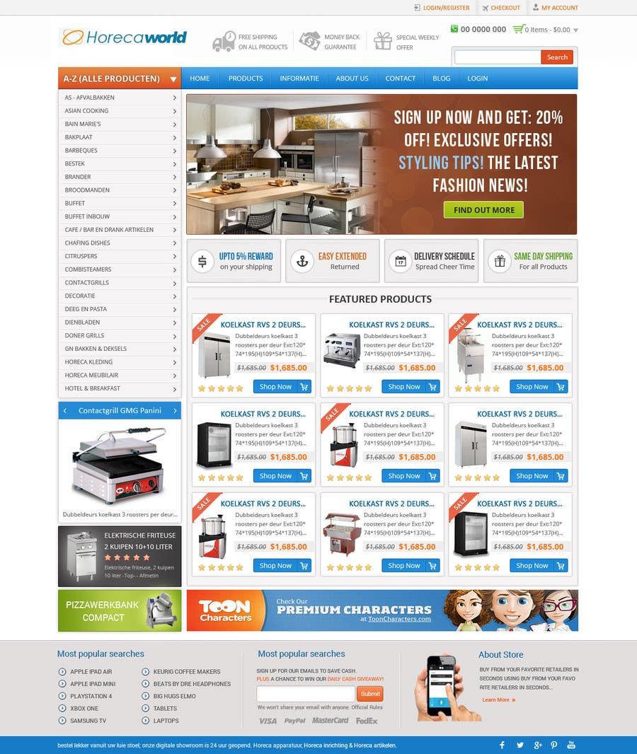 Konkurrenceindlæg #                                        5                                      for                                         New design webshop