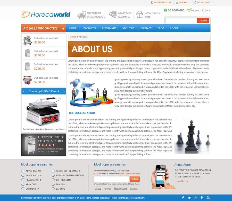Konkurrenceindlæg #                                        12                                      for                                         New design webshop