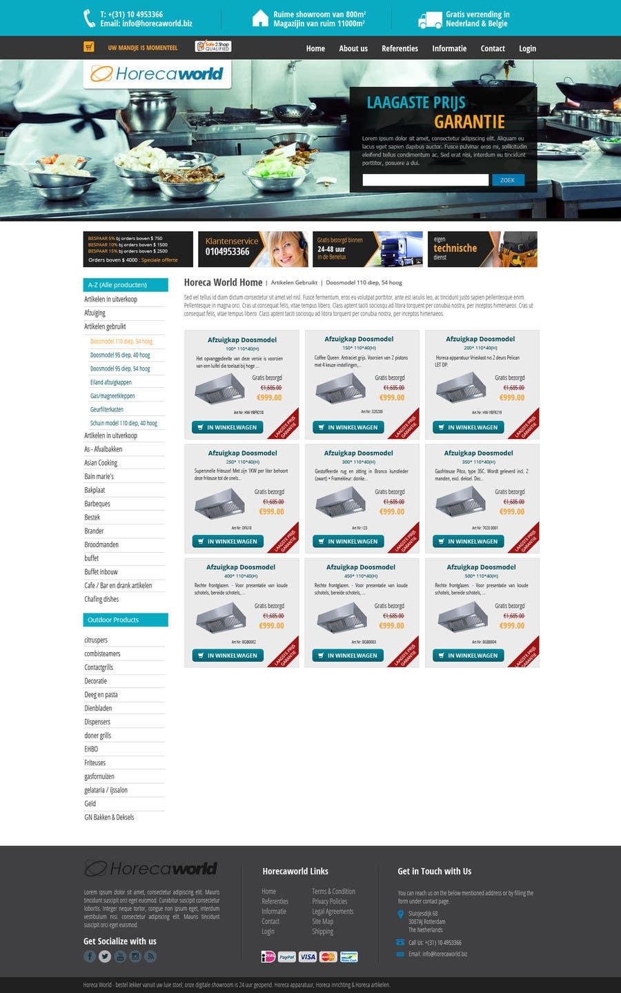 Konkurrenceindlæg #                                        14                                      for                                         New design webshop