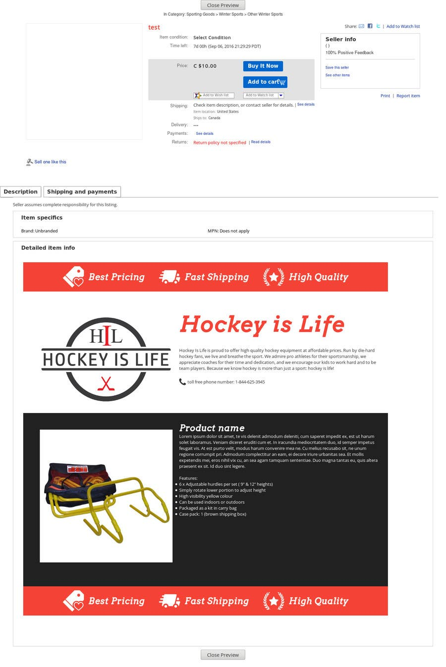 entry 1 by cristisatcovschi for create a html ebay listing template