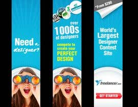 #188 for Banner Ad Design for Freelancer.com by aztuzt