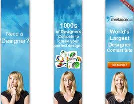 nº 175 pour Banner Ad Design for Freelancer.com par arunstudios