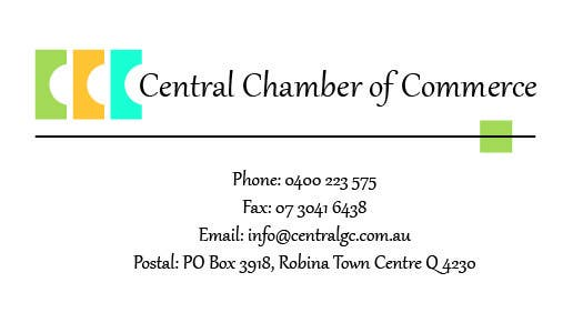 Konkurrenceindlæg #15 for ***URGENT*** Business Card Design for Central Chamber of Commerce