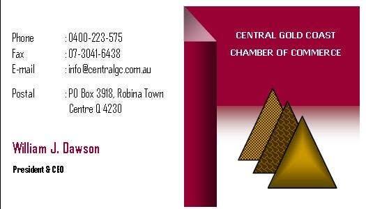 Inscrição nº 43 do Concurso para ***URGENT*** Business Card Design for Central Chamber of Commerce
