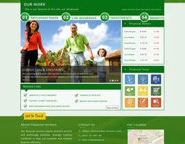 nxtgenart tarafından Mockup for 1 page of new website design için no 8