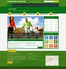 Mockup for 1 page of new website design için Graphic Design17 No.lu Yarışma Girdisi