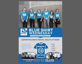 #12 para Design an A4 flyer | Blue Shirt Wednesday | 2016 | 02 de cronie