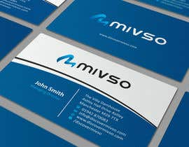 #7 for Design some Business Cards for Mivso by ezesol